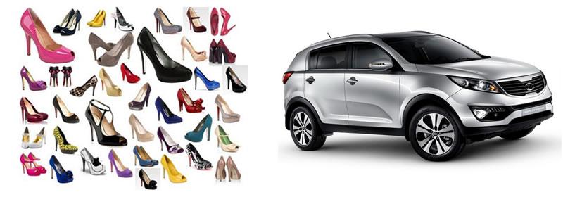 Sapatos novos e carro novo: Onde investir para realizar desejos de consumo?