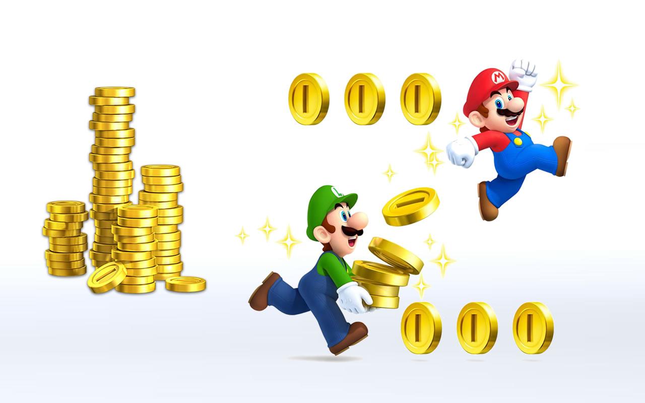 Mário e Luigi acumulando capital