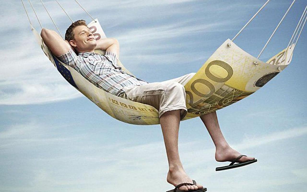 Tranquilo na rede com a renda pessoal organizada